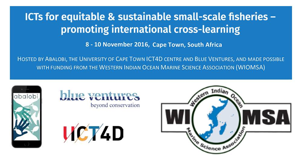 #ICT4fisheries2016 Workshop